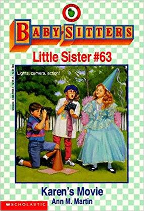Baby-Sitters Little Sister: Karen's Movie