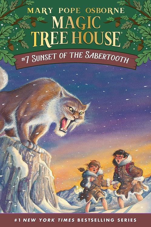 Magic Tree House: Sunset of the Sabertooth