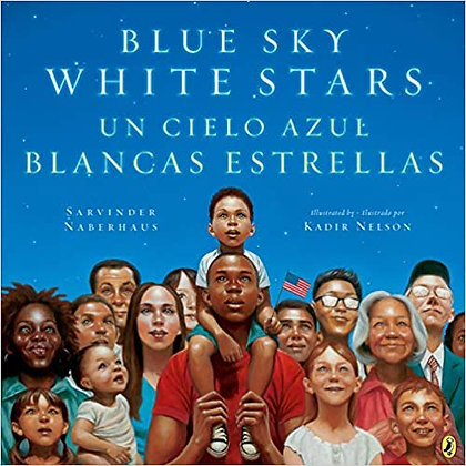 Blue Sky White Stars/Un Cielo Azul Blancas Estrellas