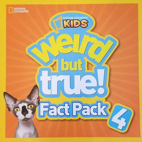 Weird But True! Fact Pack 4