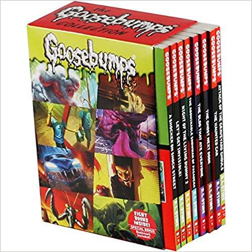 Goosebumps Collection: 8 Book Box Set