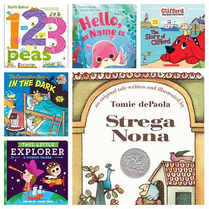 6 Paperback Picture Books a Month