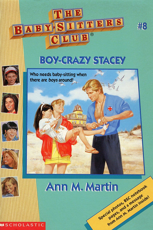 The Baby-sitters Club: Boy-Crazy Stacey