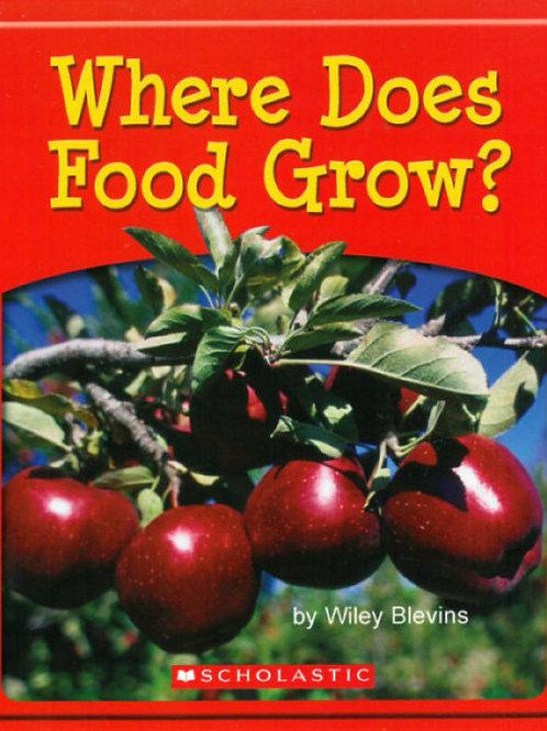 Where Does Food Grow?