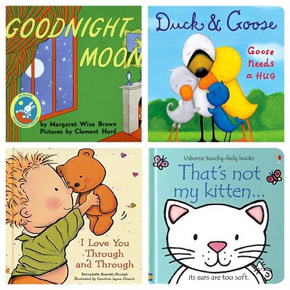4 Board Books a Month