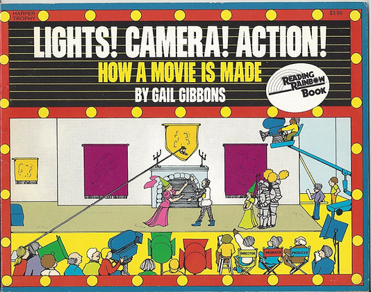 Lights! Camera! Action! How a Movie is Made