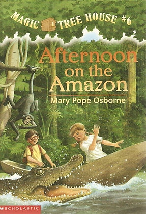 Magic Tree House: Afternoon on the Amazon