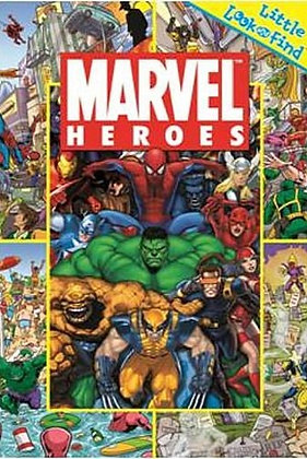 Little Look and Find: Marvel Heroes