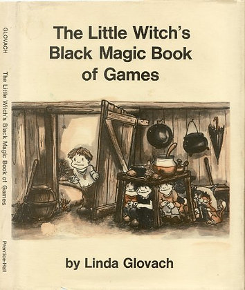 The Little Witch's Black Magic Book of Games