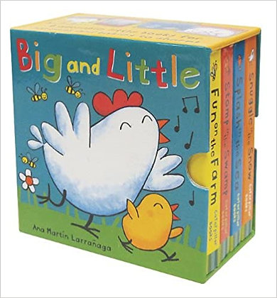 Big and Little Mini Board Book Set