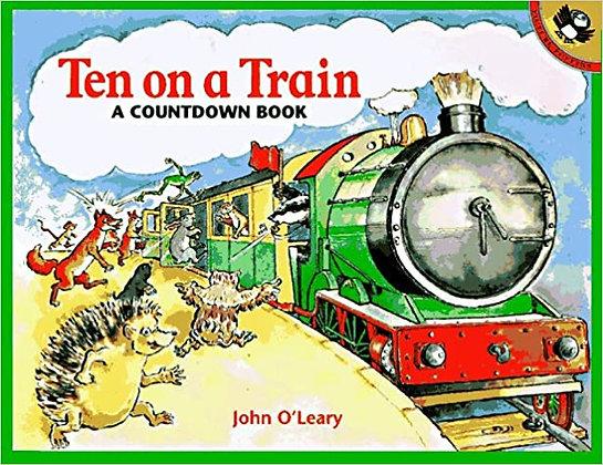 Ten on a Train: A Countdown Book