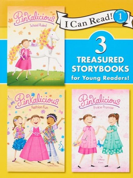 Pinkalicious: 3 Treasured Storybooks for Young Readers