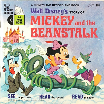 Walt Disney's Story of Mickey and the Beanstalk