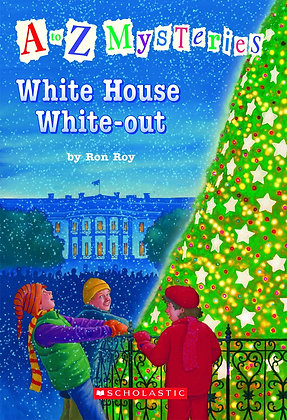 A to Z Mysteries: White House White-Out