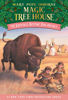 Magic Tree House: Buffalo Before Breakfast