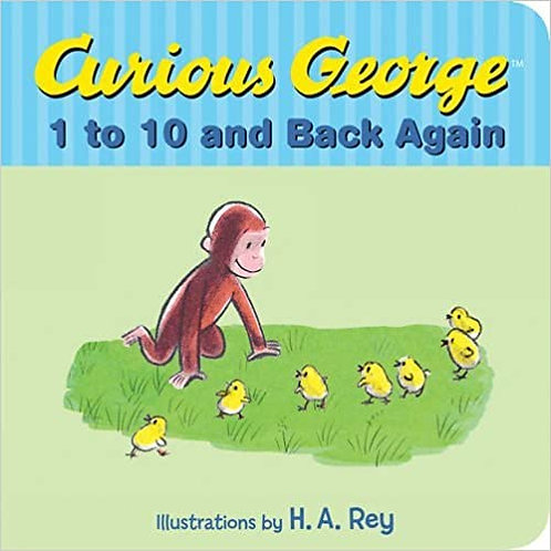 Curious George's 1 to 10 Back Again