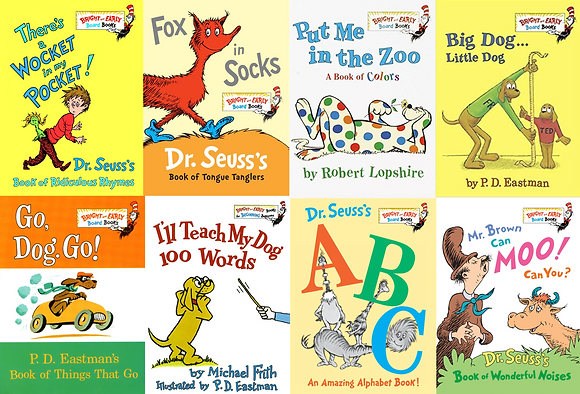 Dr. Seuss's Bright and Early Board Book Collection