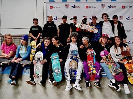 USA Skateboarding National Team Announced