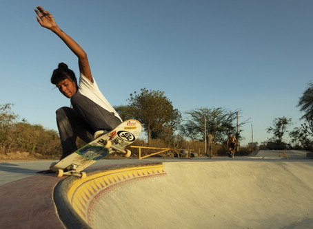 India's female skateboarders look to break with tradition, empower others, and shatter stereotypes