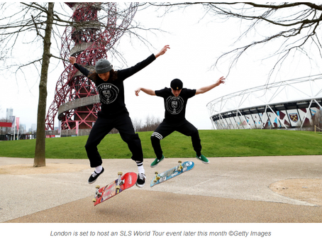 London to host 2020 World Skate Street League Skateboarding World Championships