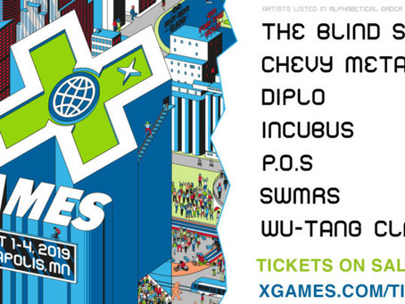 X Games Minneapolis 2019 Reveals Four-Day Music Lineup