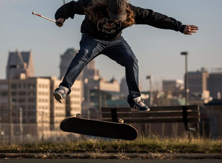 This Blind Skateboarder Can Pull Off Tricks You'd Never Expect