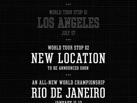 Street League Skateboarding 2018 World Tour Update: Rio