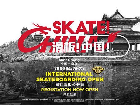 International Skateboarding Open, China