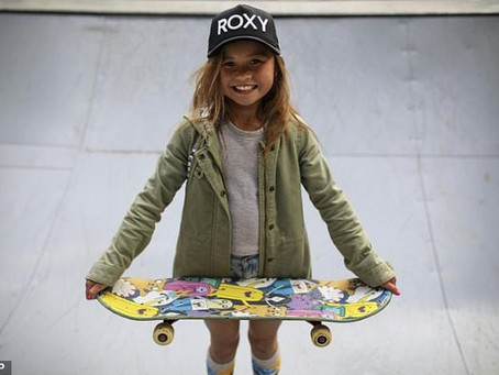 Sky Brown: 10-year-old skateboarder set to compete for Team GB at Olympics