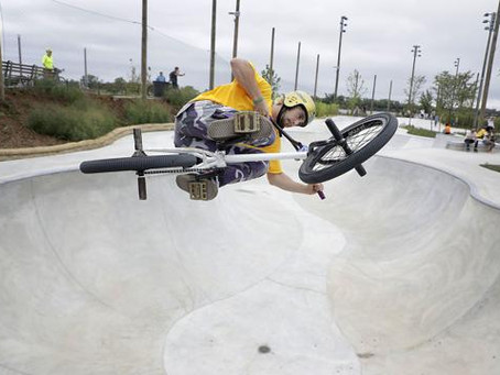Gathering Place skate park hits sweet spot for action sport enthusiasts