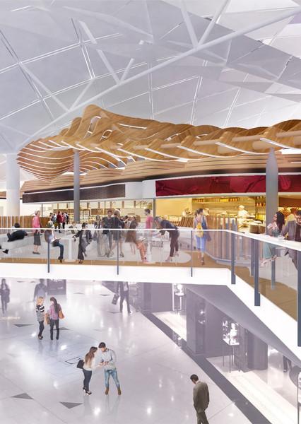 Hong Kong International Airport T1 Foodcourt