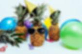 photo-of-three-pineapples-surrounded-by-