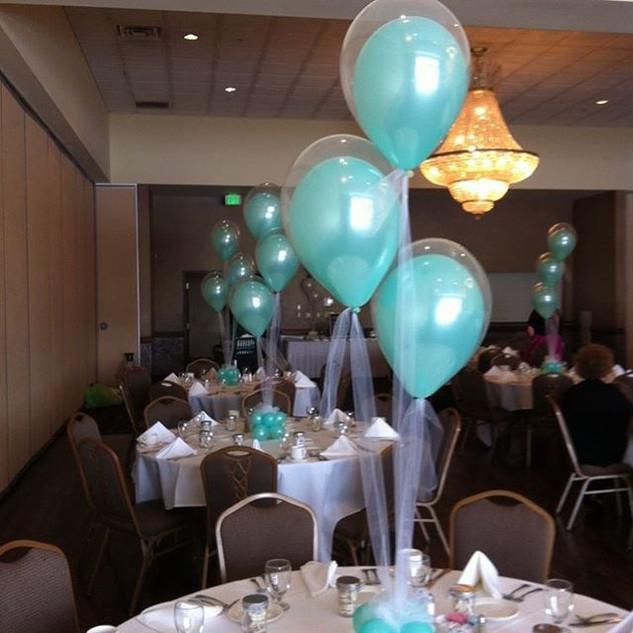 Balloon inside balloon