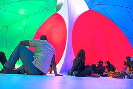 RGBubble by Pneuhaus ground view