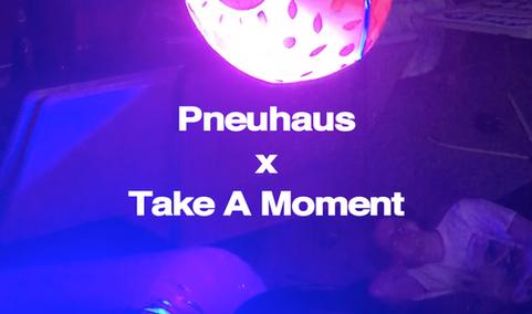 Pneuhaus and Take a Moment Collaboration Inflatable Art Light Art Event Design 3d screenprint sculpture kinetic art