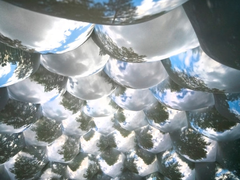 Pneuhaus Compound Camera Inflatable Art Architecture Experimental Event Space Experiental Art Installation Optical Interactive Science based nature inspired art artwork immersive dome geodesic futuristic design camera obscura pinhole camera live projection white dome multiplied view kaleidoscope psychedelic vision inspired light art installation festival art public art Pneuhaus Compound Camera Inflatable Art Architecture Experimental Event Space Experiental Art Installation Optical Interactive Science based nature inspired art artwork immersive dome geodesic futuristic design camera obscura pinhole camera live projection white dome multiplied view kaleidoscope psychedelic vision inspired light art installation festival art public art textile art wall of eyes interactive touch kids educational science sculpture bubbles