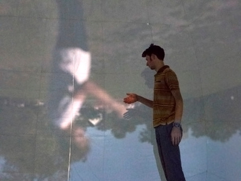 Camera Obscura Pneuhaus Inflatable Art Optical Art Science Art Immersive Installation Physics of LIght Analog Projection Inflatable Dome Art Wonder Curiosity Photography Temporary Architecture Public Art
