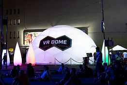 Lightborne VR Dome by Pneuhaus