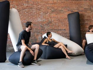 Khoman Room Inflatable Furniture by Pneuhaus