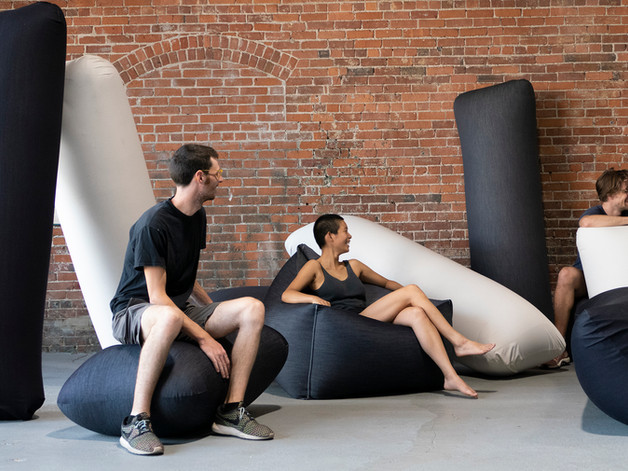 Khoman Room Inflatable Furniture by Pneuhaus
