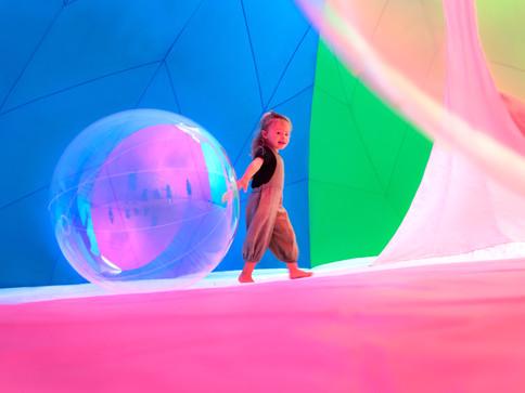 RGBubble by Pneuhaus interior detail