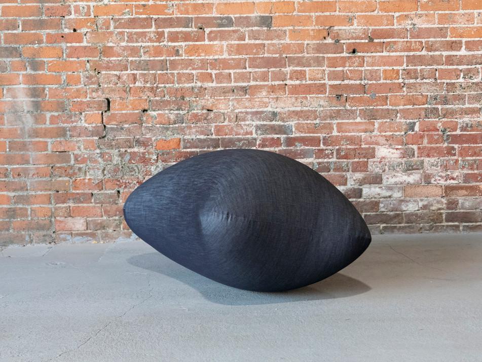 Pneuhaus Inflatable Furniture Inflatable Chair Art Furniture Khoman Room Bran Experience Denim Chair Minimal Design