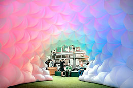 Fabric Prism by Pneuhaus Daytime Interio