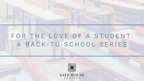 For The Love of a Student: A Back-to-School Series