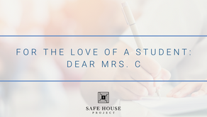 For the Love of a Student: Dear Mrs. C