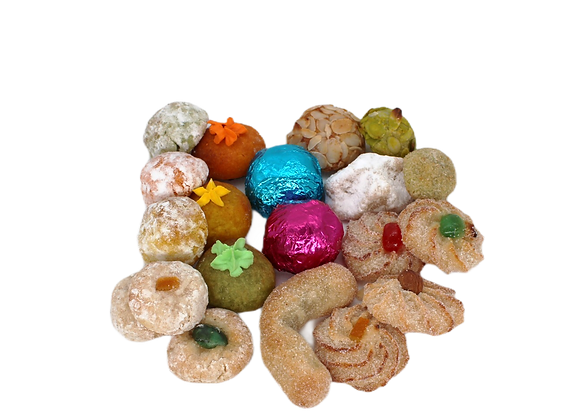 Assorted almond sweets