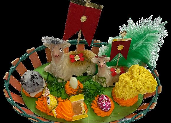 Pasquale Big Basket Lamb