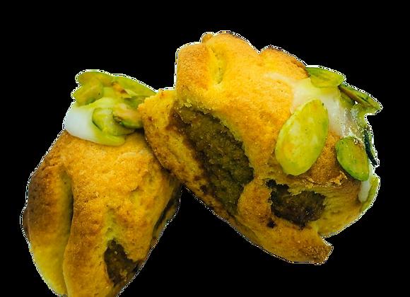 Cassatelle con Pasta di Mandorla e Pistacchio 750 Gr