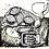 Thumbnail: Sardines and Lemons black and white  Silkscreen Print