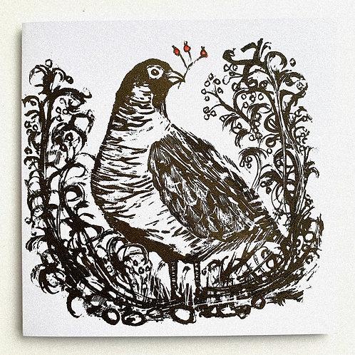 Pilmoor Partridge Greetings Card